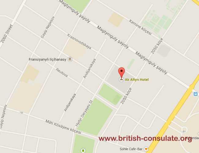 British Embassy in Turkmenistan