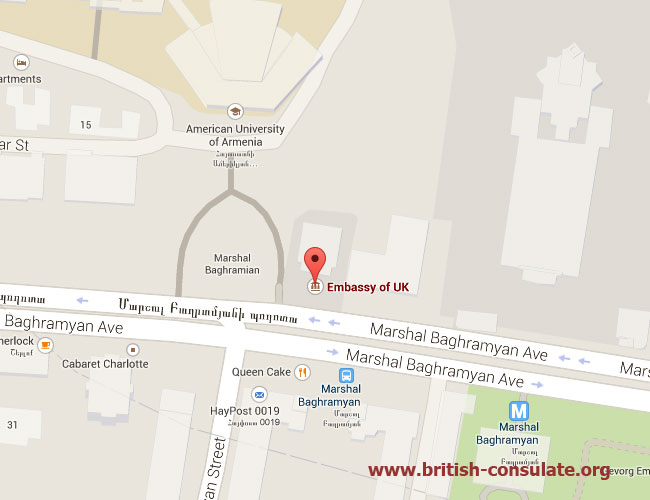 British Embassy in Armenia