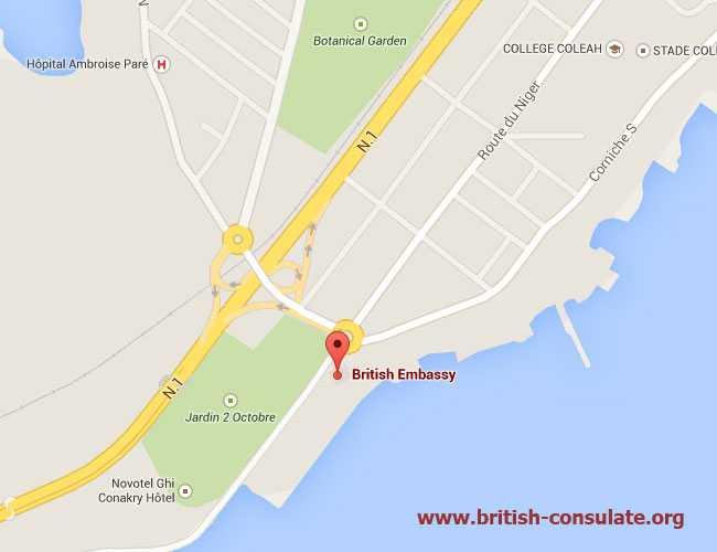 British Embassy in Guinea