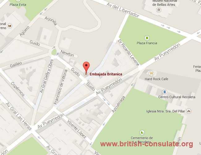 British Embassy in Argentina