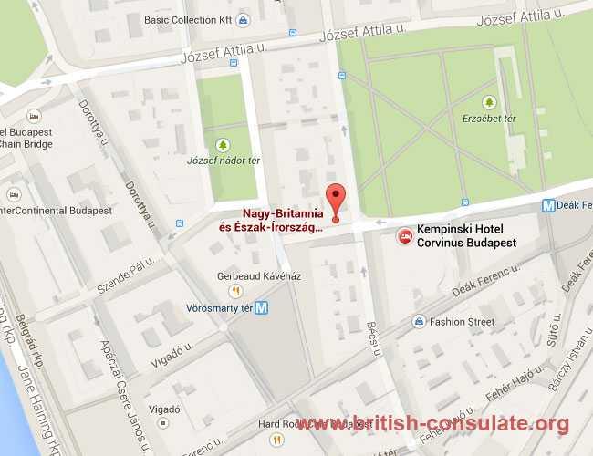 British Embassy in Hungary