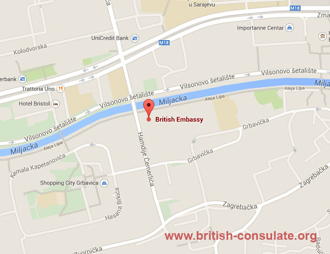 British Embassy in Bosnia and Herzegovina