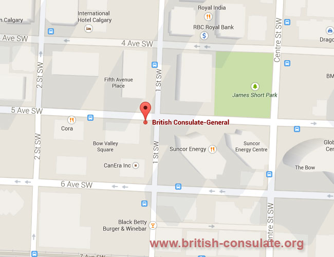 British Consulate in Calgary