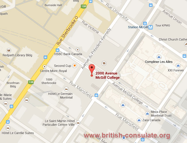 British Consulate-General in Montreal