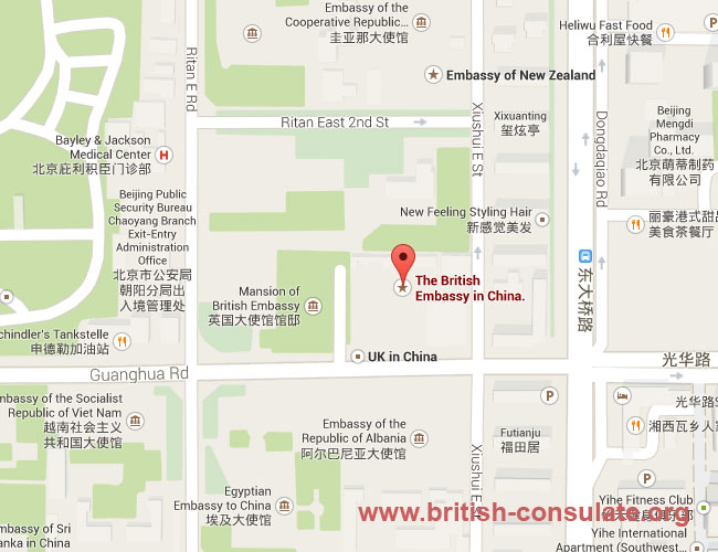 British Embassy in Beijing