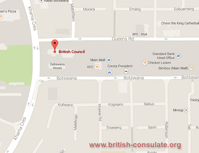 British Consulate in Botswana