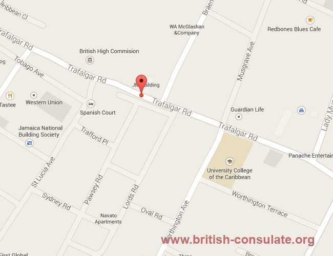 British Consulate In Jamaica British Consulate