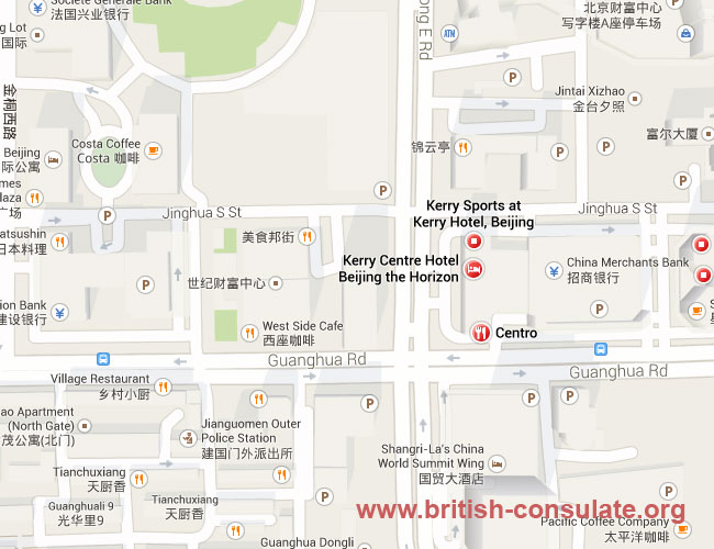 Visa & Consular Section of the British Embassy