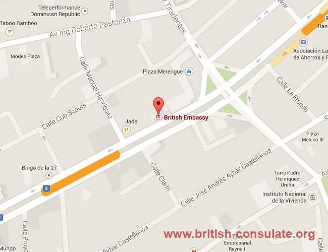 British Embassy in Dominican Republic