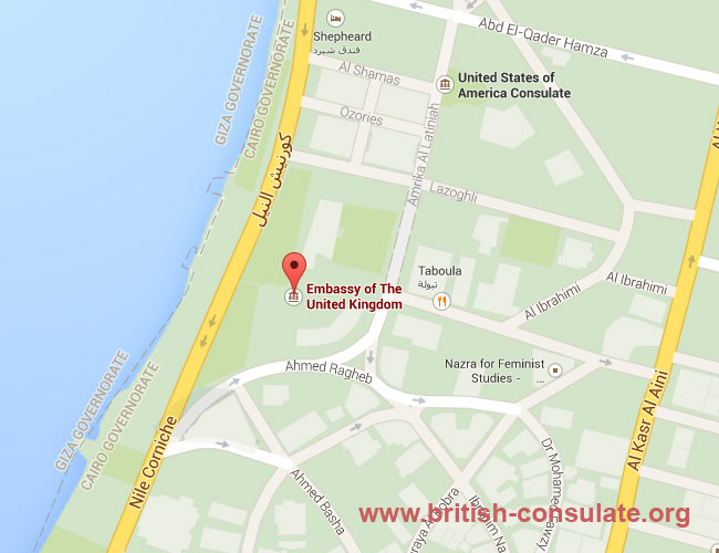 British Embassy in Egypt