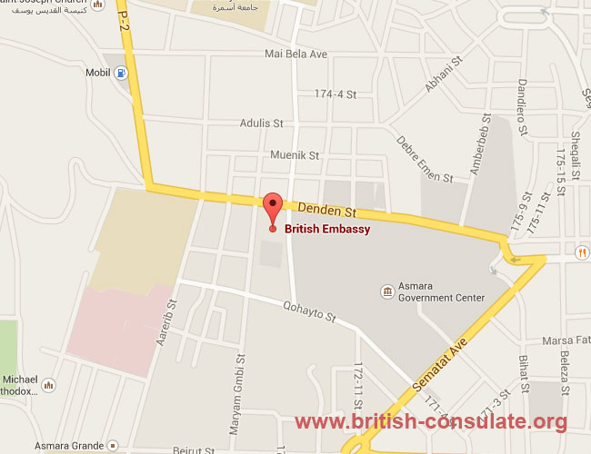 British Embassy in Eritrea
