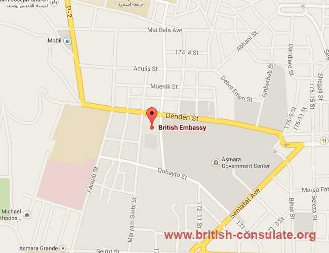 British Embassy in Eritrea