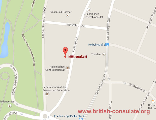 British Consulate-General Munich
