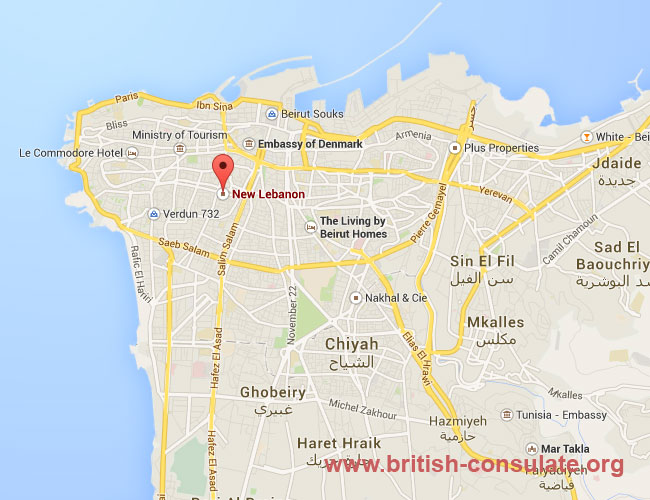 British Embassy in Lebanon