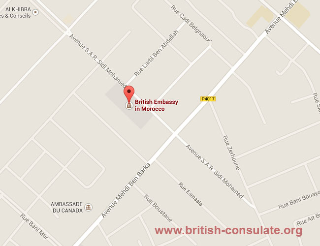 British Embassy in Morocco