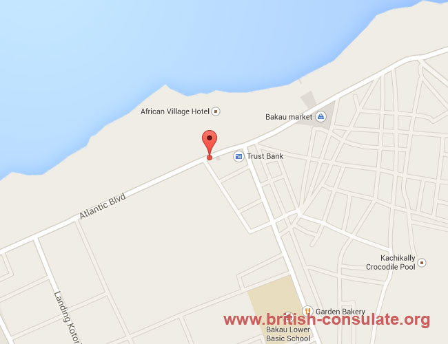 British Embassy in Gambia