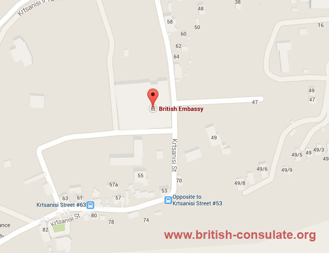 British Embassy in Georgia
