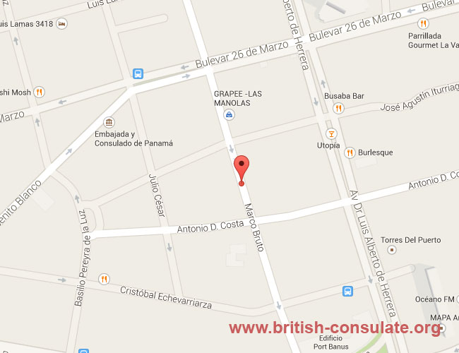 British Embassy in Uruguay