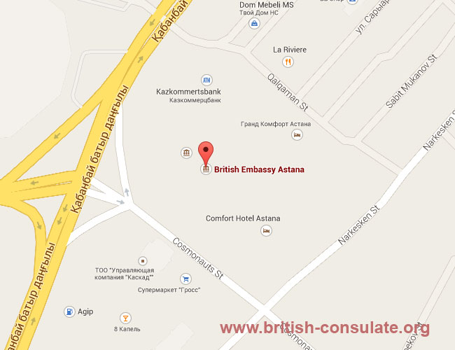 British Embassy in Kazakhstan