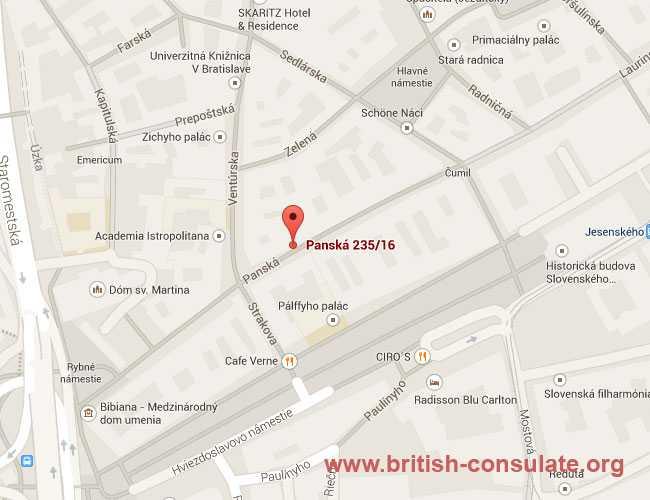 British Embassy in Slovakia