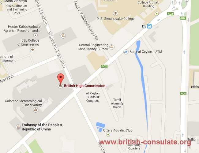British High Commission in Sri Lanka