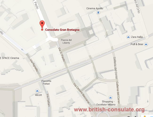 British Consulate-General Milan