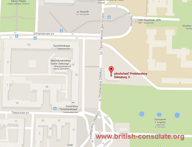 British Embassy In Russia British Consulate