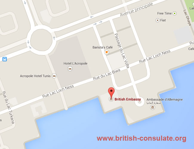 British Embassy in Tunisia