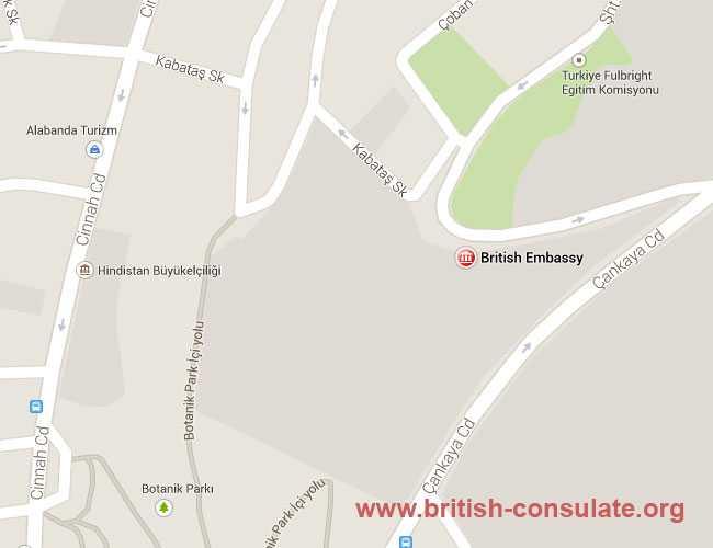 British Embassy in Turkey