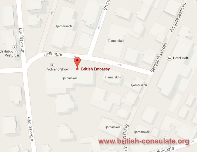 British Embassy in Iceland