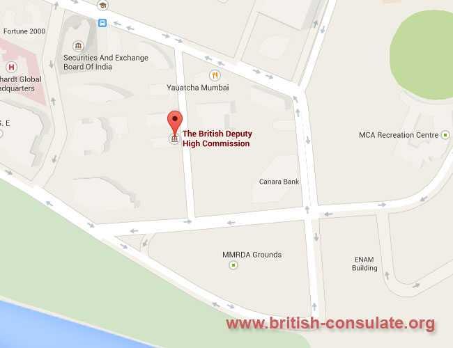 British Deputy High Commission Mumbai