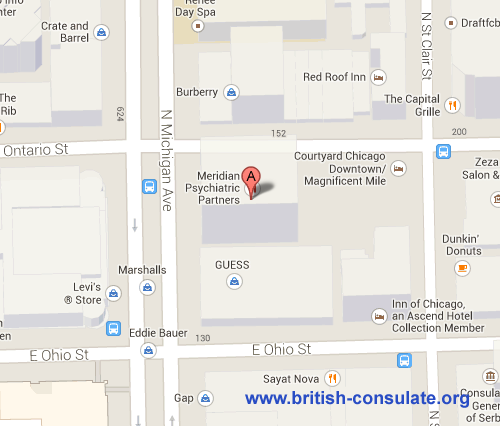 British Consulate in Chicago