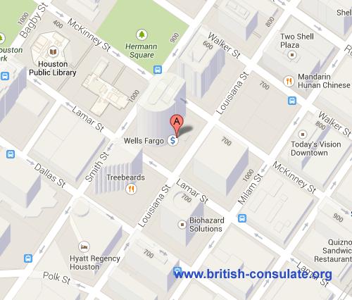 British Consulate in Houston
