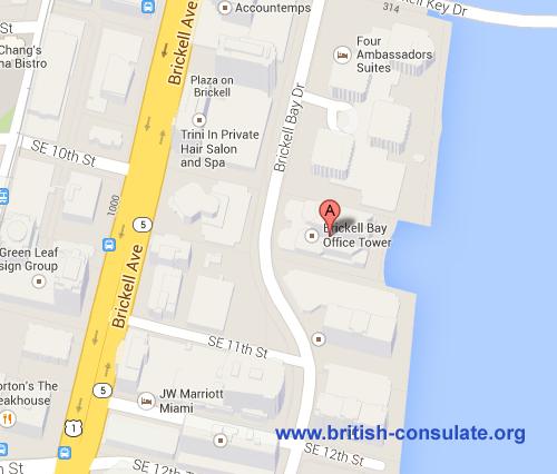 British Consulate in Miami