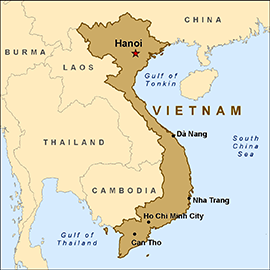 Celebration of 40 years in Vietnam