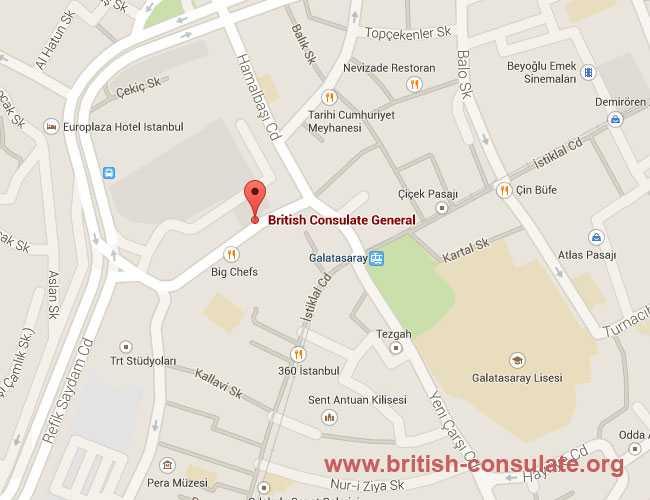 British Consulate General Istanbul
