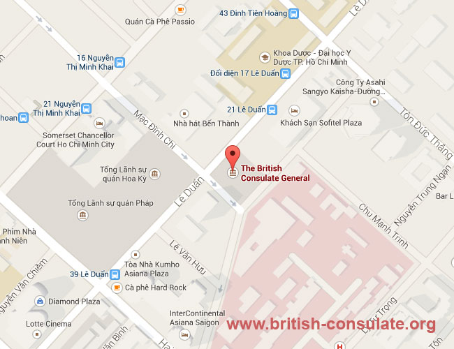 British Consulate Ho Chi Minh City