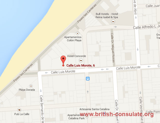 British Consulate Las Palmas