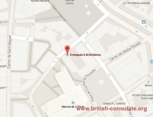 British Consulate Palma de Mallorca