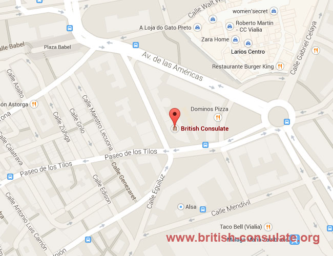 British Consulate in Malaga