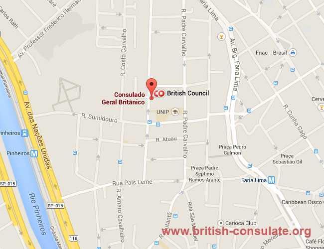 British Consulate São Paulo