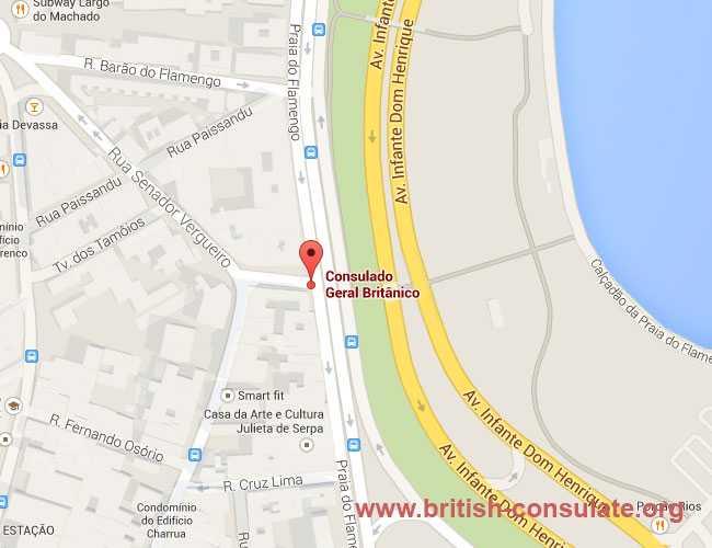 British Consulate Rio de Janeiro