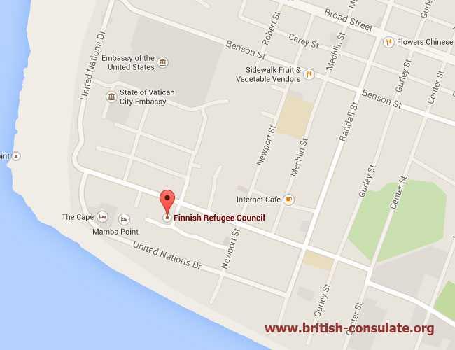 British Embassy in Liberia