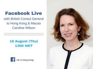 BNO - Live Question from the Consul General